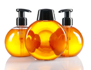 color cosmetic bottles