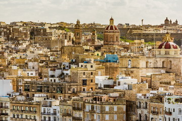 Valetta buildings, Malta