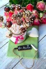 Cake Pops selbstgemacht zum Muttertag