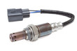 the oxygen sensor on a white background for a car - 81633871