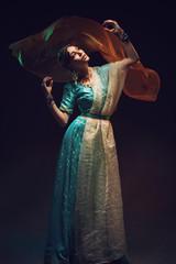 Beautiful girl in sari