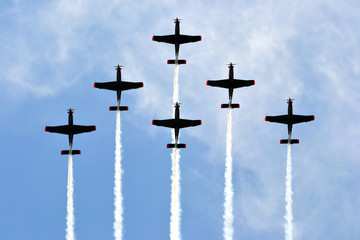 Planes - formation