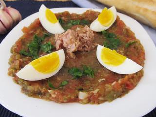 Tunisian salad.