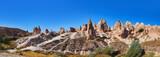 Panorama of Camel rock at Cappadocia Turkey