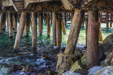 Structure of a jetty
