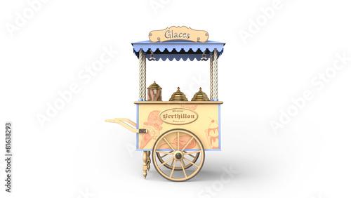 Chariot à glaces
