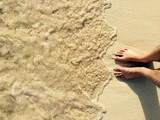 Fototapety les pieds dans l'eau