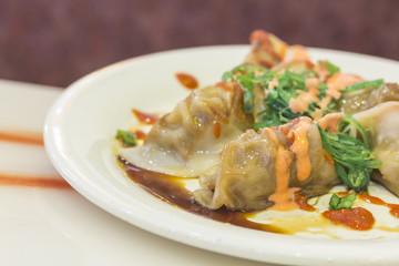 Fancy Asian Dumplings