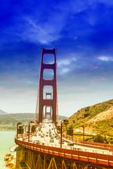 Beautiful view of Goòden Gate bridge