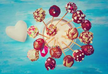 Glückwunschkarte - Cake Pops