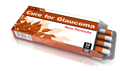 Cure for Glaucoma - Blister Pack Tablets.