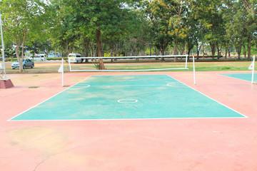 Takraw court
