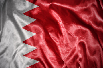 shining bahrain flag