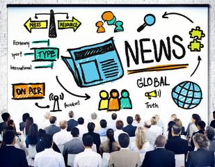 News Journalism Information Publication Update Media
