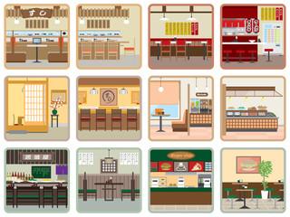 様々なレストラン