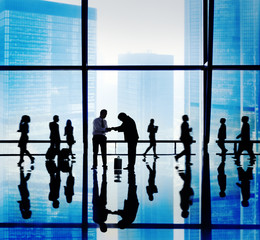 Business People Asian Office Meeting Conference Concept