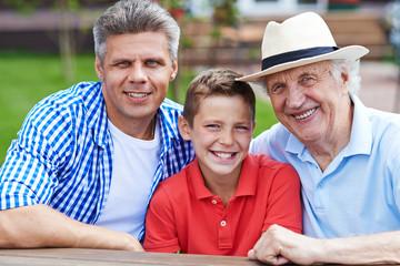 Men of one family