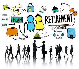 Business People Employee Retirement Partnership Discussion