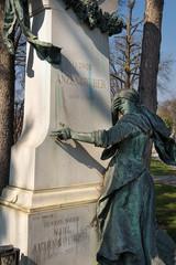 Anzengruber - Grab auf dem Zentralfriedhof | Wien
