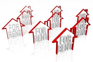 House rental concept