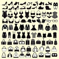 Fashion  Female cloth collection.