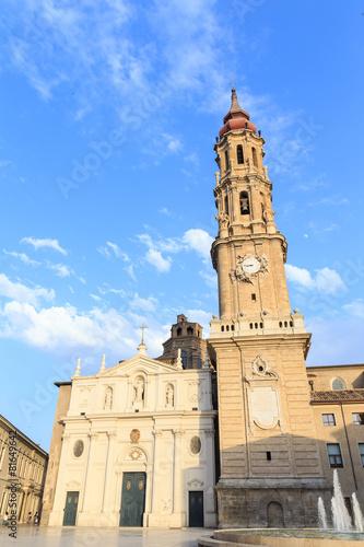 La Seo also known as Salvador Cathedral at Zaragoza