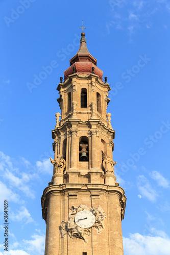 Cathedral of La Seo, in the famous Plaza del Pilar, Zaragoza