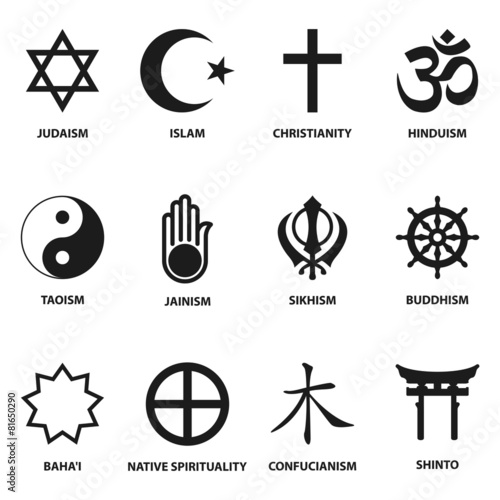 religious sign and symbols - 81650290