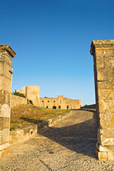Castle of Bovino. Puglia. Italy.