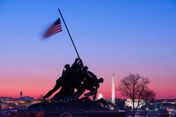 Iwojima Memorial in Washington, D.C.