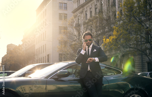 Elegant businessman - 81651844