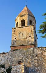 Historical church. Bovino. Puglia. Italy.
