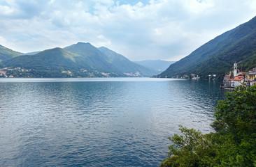 Lake Como summer view (Italy)