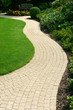 Beautiful lawn and  path - 81652820