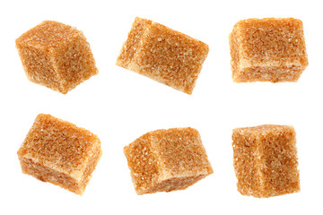 Thatched brown sugar cube collection