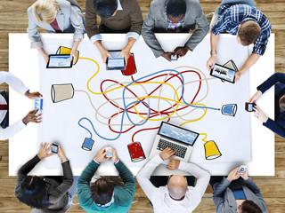 Communication Telecommunication Connection Calling Concept