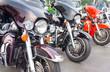 Leinwandbild Motiv Harley davidson