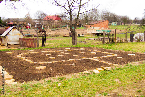 Papiers peints Jardin Starting a permaculture garden bed