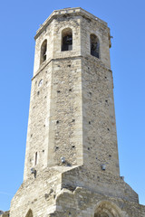 Medieval tower in Puigcerdà, Cerdanya, Girona, Spain