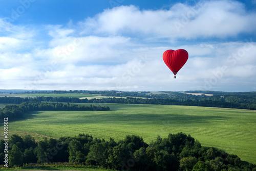 Fotobehang Ballon Воздушный шар