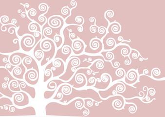 sfondo con taglio albero