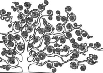 albero fil di ferro