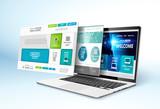 Web design concept. Vector - 81657610
