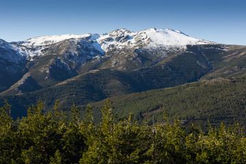 Pico del Lobo. Sierra Norte. Segovia
