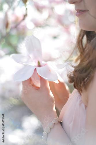 Poster Magnolia magnolien traum