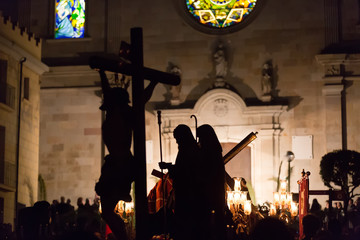Holy Week in Badalona, Spain