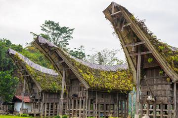 Traditional village of Tana Toraja, Indonesia