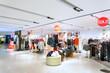 fashion clothes shopfront in shopping mall - 81661490