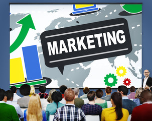 Marketing Strategy Brand Commercial Advertisement Plan Concept