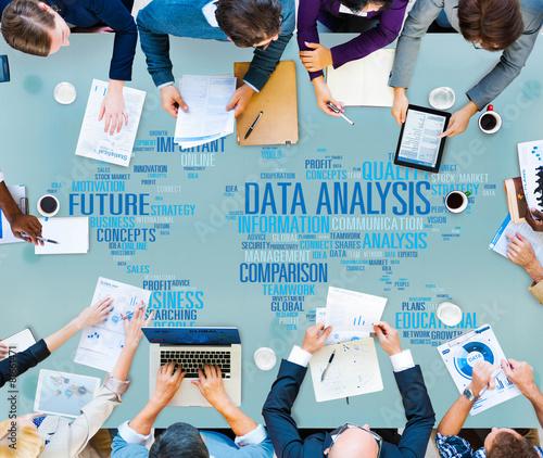 Data Analysis Analytics Comparison Information Networking